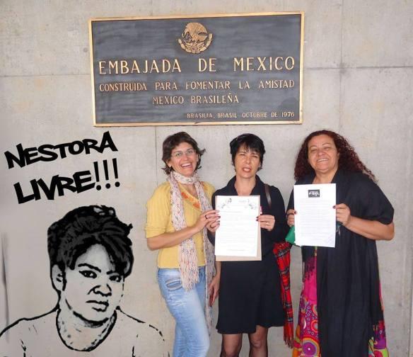 Embajada mex en Brasil